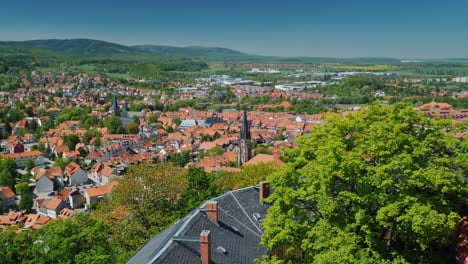 Small-German-Town-with-Red-Rooftops