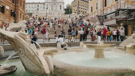 Spanish-Steps-and-Barcaccia-Fountain-Rome