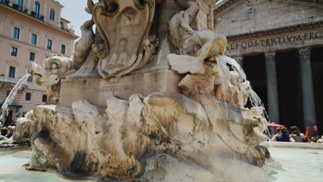Pantheon-Fountain-in-Rotunda-Square-Rome