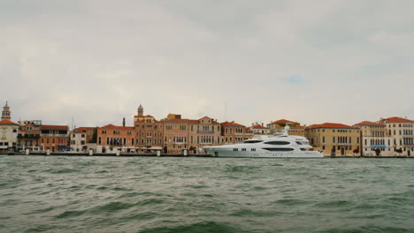 Luxury-Yacht-Moored-in-Venice