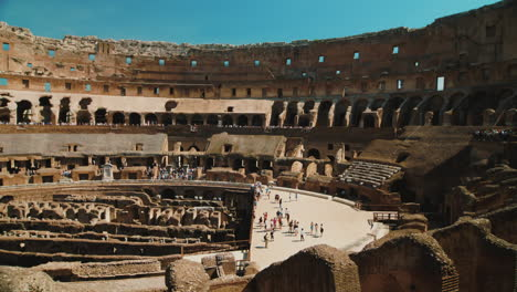 Panning-Across-Colosseum-Interior-Rome