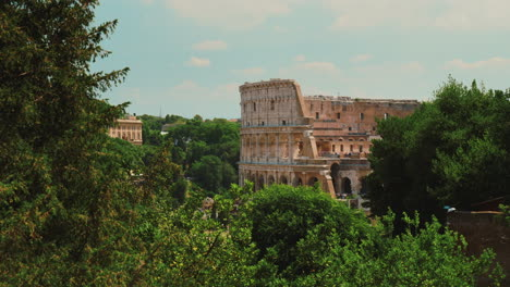Roman-Colosseum-and-Tree-Tops