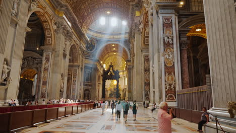 Vatican-St-Peter-s-Cathedral-Interior