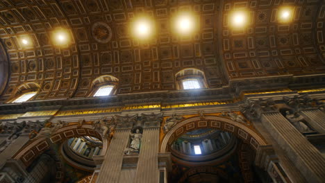 Vatican-St-Peter-s-Basilica-Ceiling