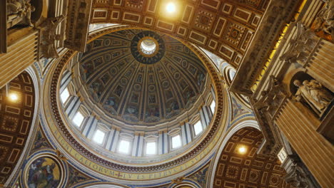 Dome-Interior-in-St-Peter-s-Basilica-in-Rome