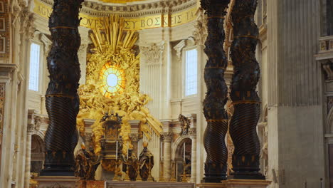 Altar-and-Baldachin-in-St-Peter-s-Basilica-Rome