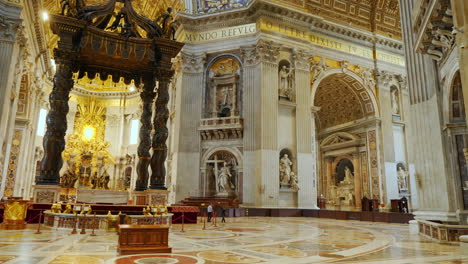 Baldachin-and-Altar-in-St-Peter-s-Basilica-Rome