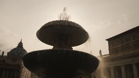 Fountain-By-St-Peter-s-Basilica-Rome