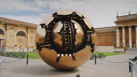 The-Sphere-Within-A-Sphere-A-Bronze-Sculpture
