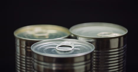 Food-Supplies-Canned-Food-Rotating-On-Black-Background-3