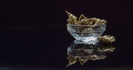 Cannabis-Drugs-Concept-Dry-Marihuana-In-Small-Bowl-Rotating