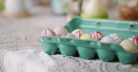 Easter-Eggs-In-Extruder-On-Decorated-Table