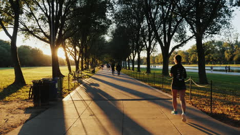 Joggers-and-Cyclists-in-Washington-Park