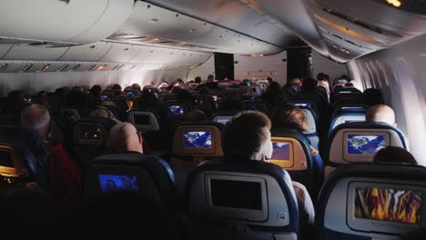 Passengers-in-Airliner-Seats