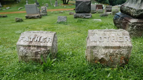 Mother-and-Father-Grave-Markers