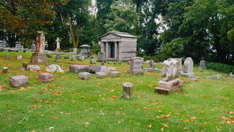 Mausoleum-in-a-Cemetery