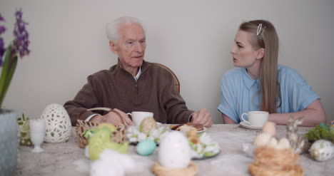 Happy-Easter-Grandfather-And-Granddaughter-Spending-Easter-Together-At-Home-11