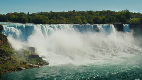 Niagara-River-And-Falls-From-Rainbow-Bridge
