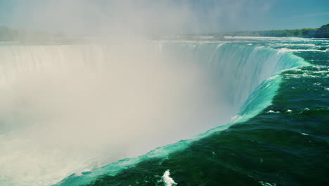 River-Flowing-Over-Niagara-Horseshoe-Falls