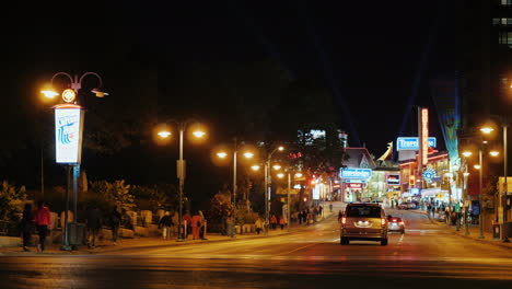 Road-in-Clifton-Hill-Ontario-At-Night