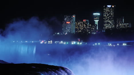 Niagara-Falls-Clifton-Hill-Cityscape-at-Night