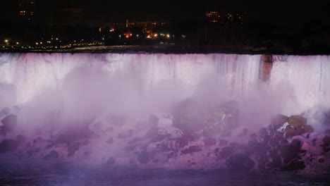 Misty-Niagara-Falls-Illuminated-at-Night