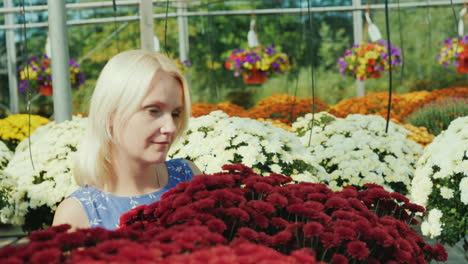 Woman-Among-Flowers-in-Commercial-Greenhouse