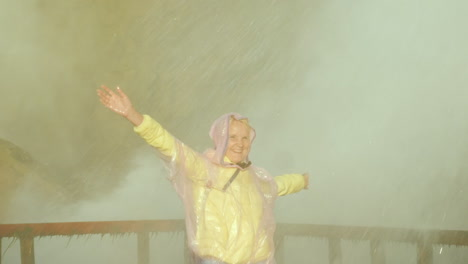 Woman-Under-Spray-of-Niagara-Falls