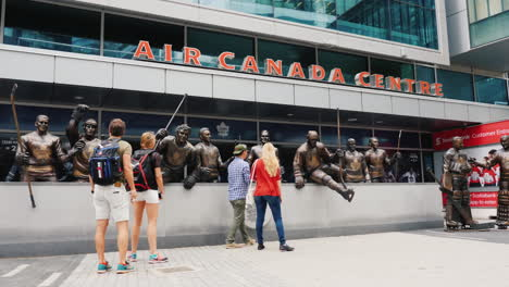 Maple-Leaf-Legends-Row-Air-Canada-Center