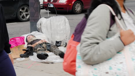 Rough-Sleeper-on-Sidewalk