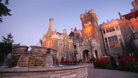 Casa-Loma-Castle-at-Dusk