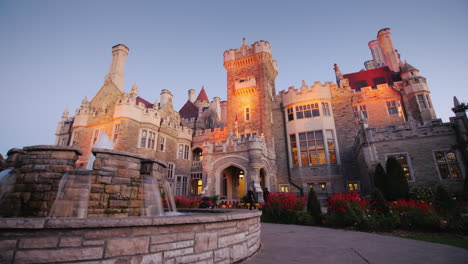 Casa-Loma-Castle-Toronto-at-Dusk