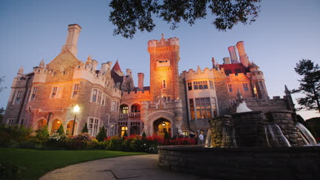 Casa-Loma-Castle-at-Twilight