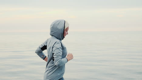 Woman-Jogging-in-Early-Morning