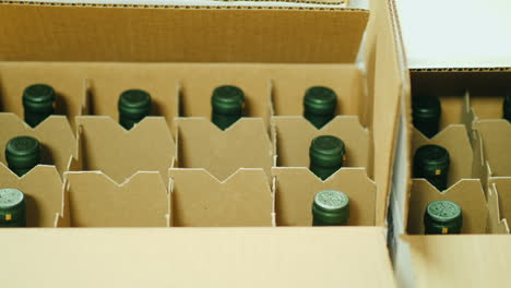 Putting-Bottles-Of-Wine-In-A-Box