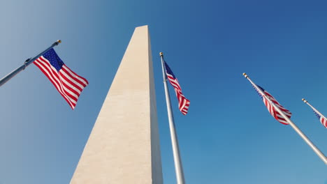 American-Flags-and-Washington-Monument