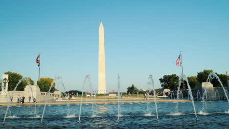 Washington-Monument-and-Memorial-Fountain