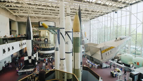 Rockets-and-Planes-in-Aircraft-Museum