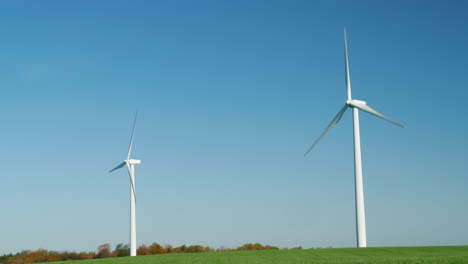 Pair-of-Wind-Turbines