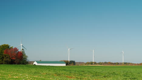 Wind-Turbines-and-a-Barn