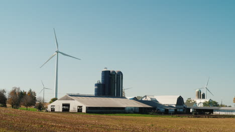 Wind-Turbines-and-Grain-Silos