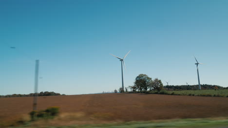 Passing-by-Wind-Turbines