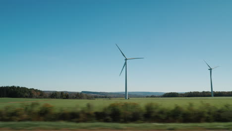 Passing-Wind-Turbines