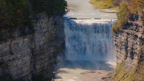 Waterfall-in-Letchworth-State-Park