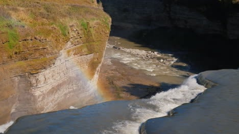 Rainbow-and-Waterfall-on-Genesee-River
