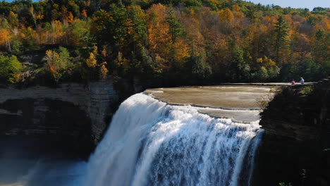 Middle-Waterfall-Genesee-River