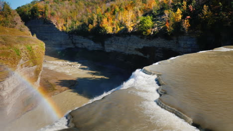Genesee-Middle-Waterfall-and-Rainbow