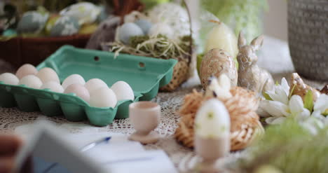 Happy-Easter-Easter-Eggs-Decorations-On-Table