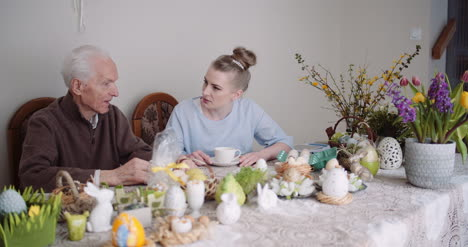 Happy-Easter-Grandfather-Talking-With-Granddaughter-5