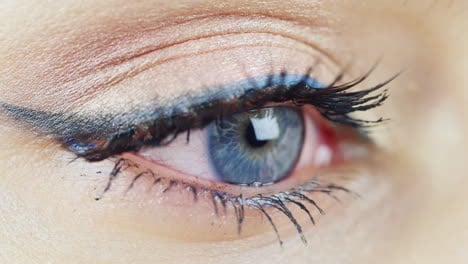 The-Eye-Of-A-Young-Woman-With-Blue-Eyes-Hd-Video